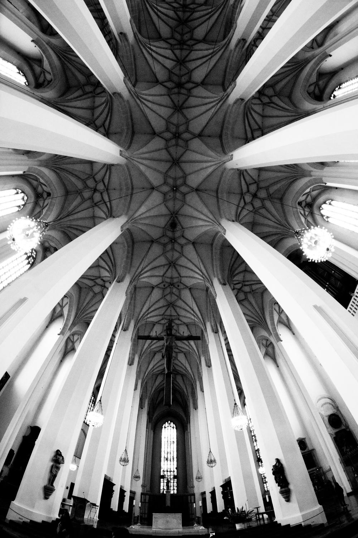 Church ceiling fisheye