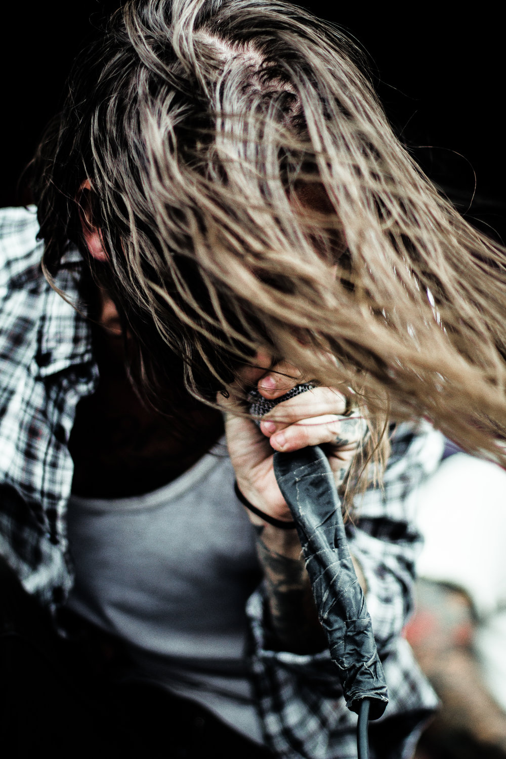 Keith Buckley of Every Time I Die at Warped.