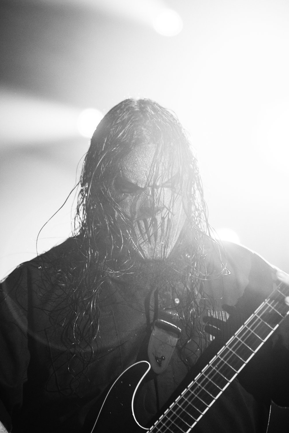 Unreleased image of Mick Thompson of Slipknot. They were so fun to shoot.