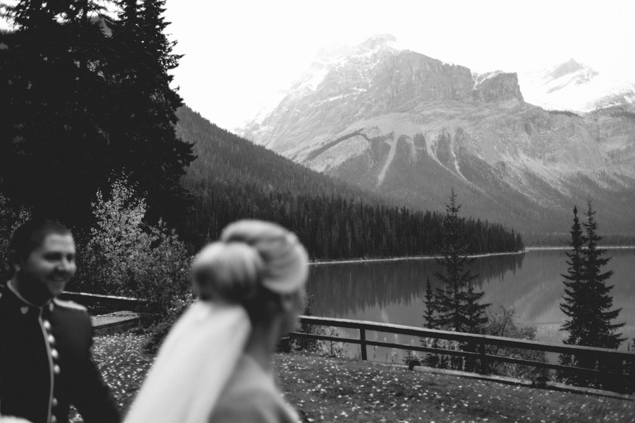 Emerald Lake Lodge wedding photography