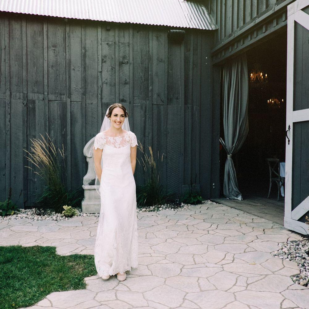 Bride and her Evermore Almonte destination wedding.jpg