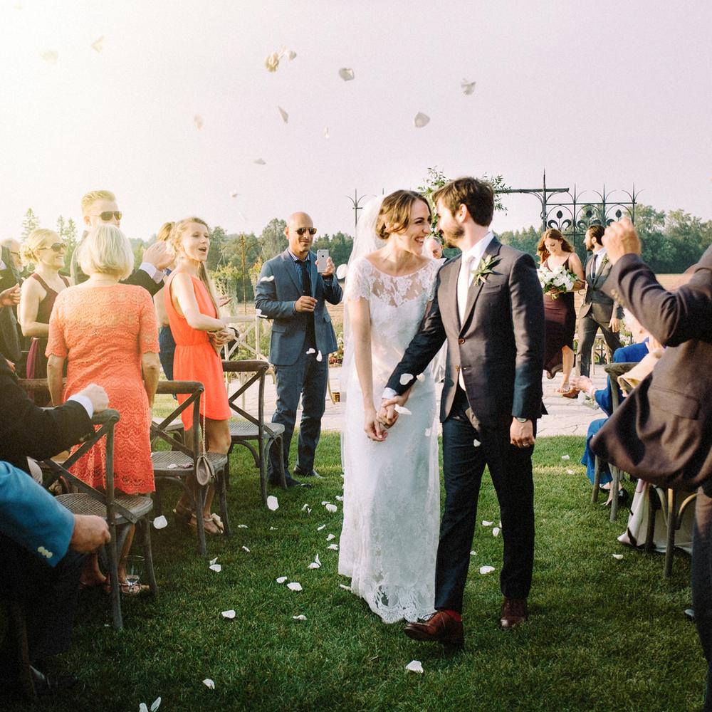 Evermore Wedding ceremony bride and groom exit.jpg