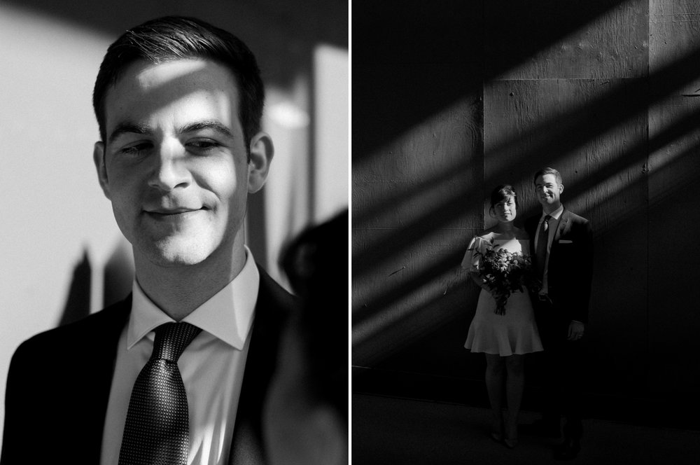 cool black and white groom wedding portrait.jpg