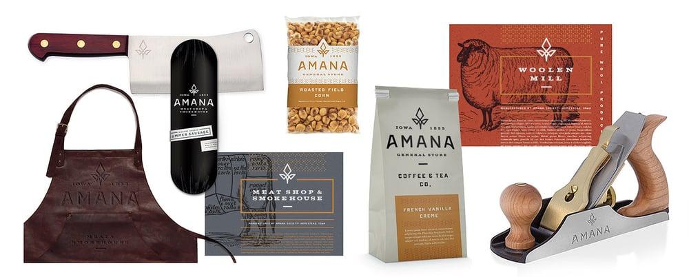 Amana Brand Application