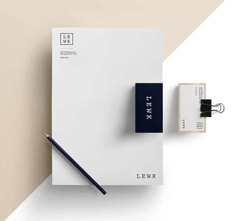 Lewk Branding Design