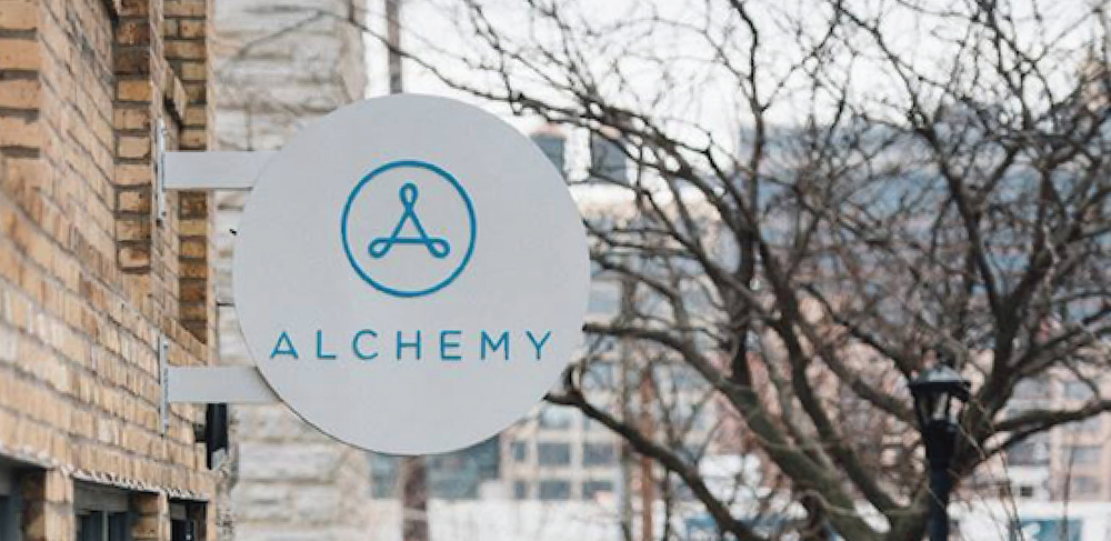 Alchemy Brand Identity Sign - 2