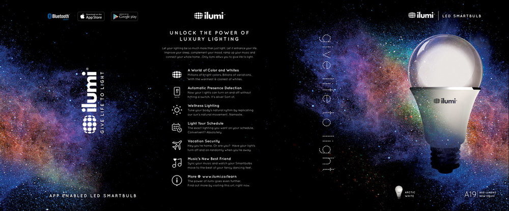 Ilumi Packaging Design