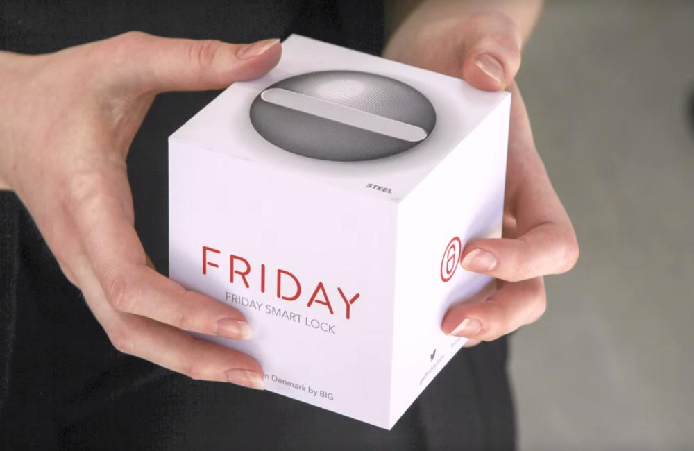 Friday Smart Lock_Packaging Design