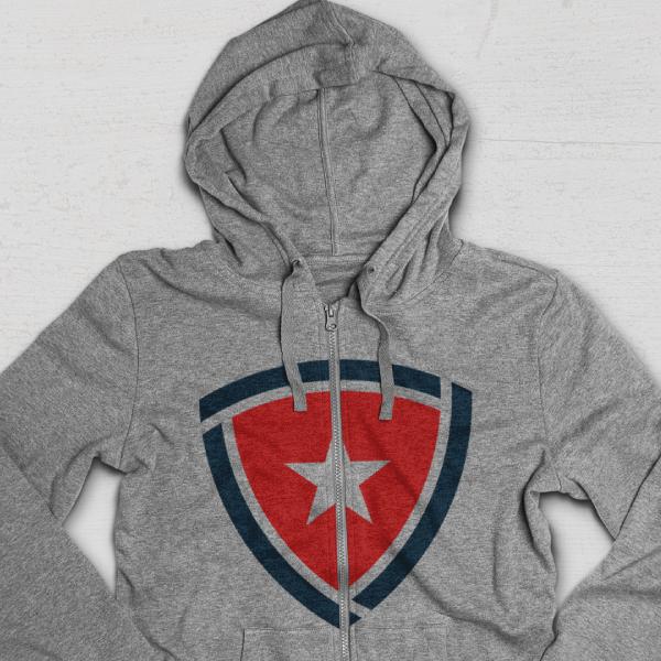 United Heroes League_Sweatshirt Branding