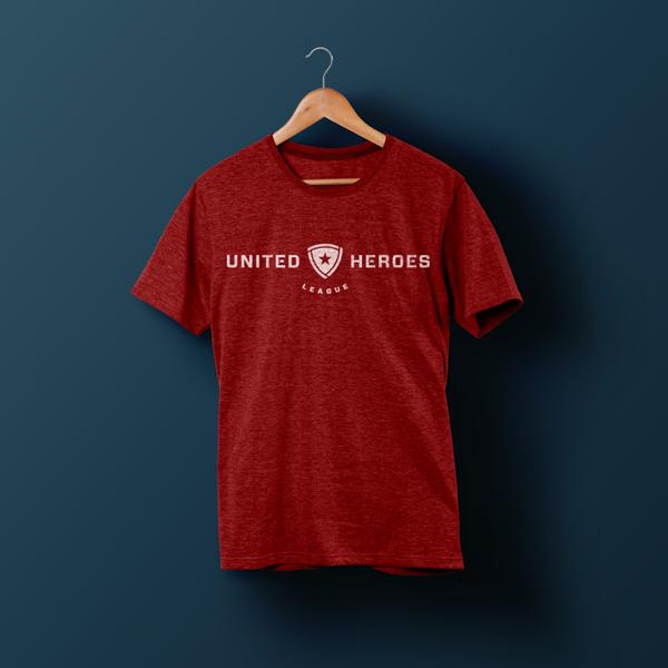 United Heroes League_T-Shirt Branding