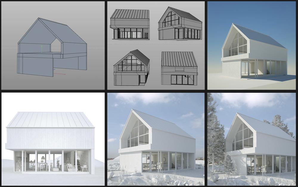 3D render design