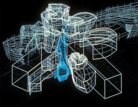 Constructing the Walt Disney Concert Hall(Museo Guggenheim, Bilbao, 2010)