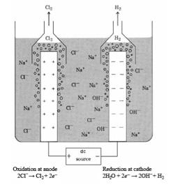 """(""""Electrolysis of Brine,"""" 3)"""