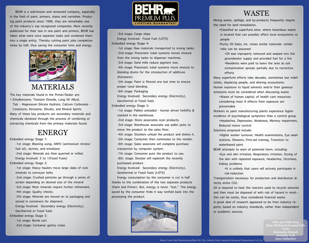 Behr Oil Based Interior Exterior Primer And Sealer Design Life Cycle