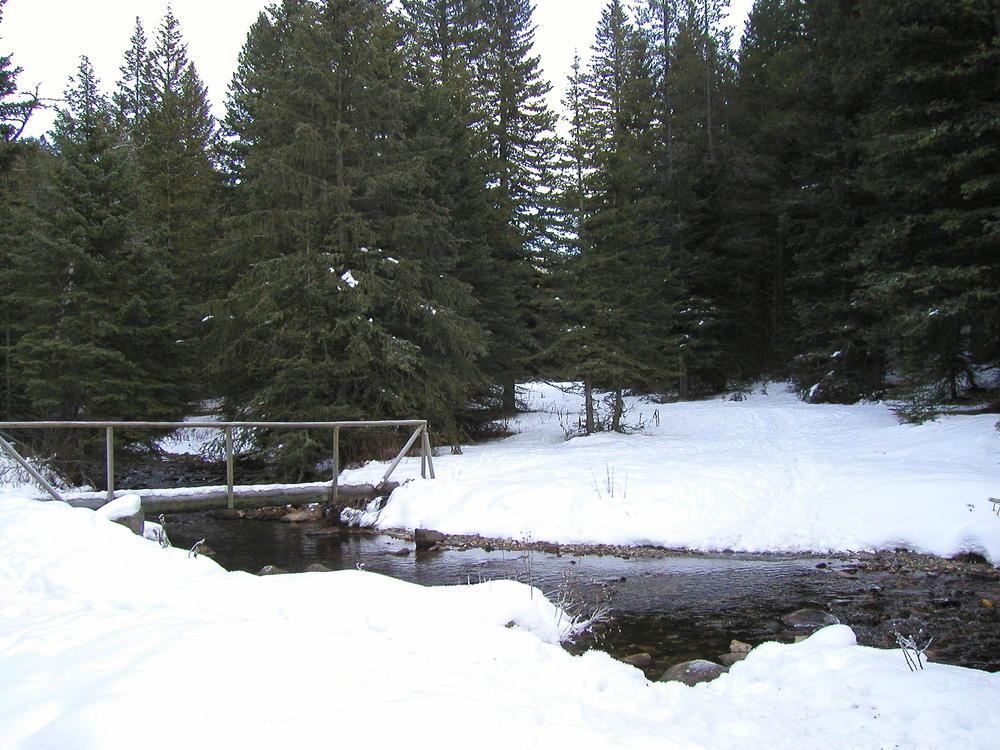 Montana style bridge