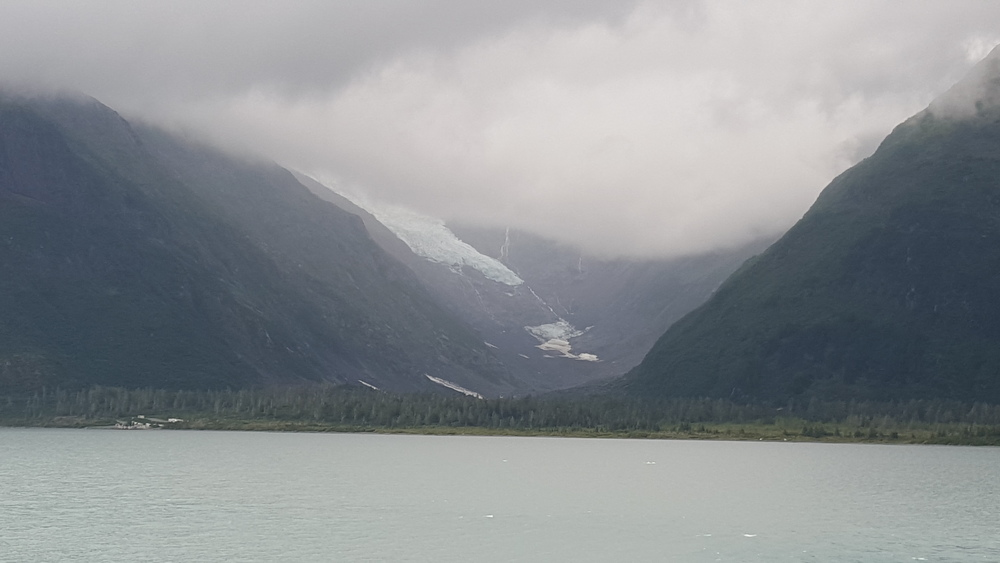 Southern Alaska glacier