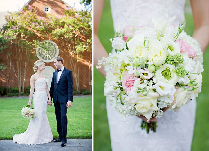 Bouquet of Roses, Ranunculus, Hydrangeam and Lily of the Valley