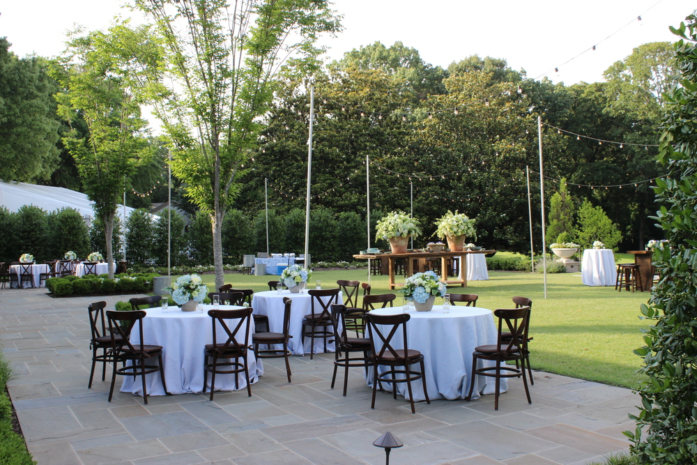 The event lawn at The Memphis Hunt and Polo Club