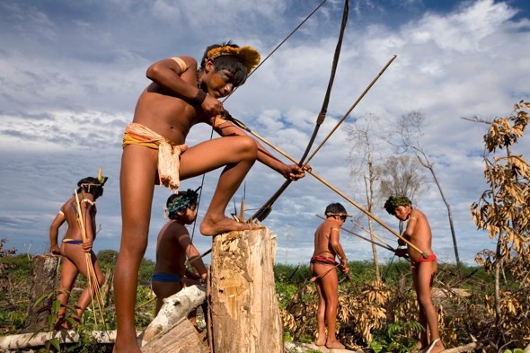 amazon natives Naked