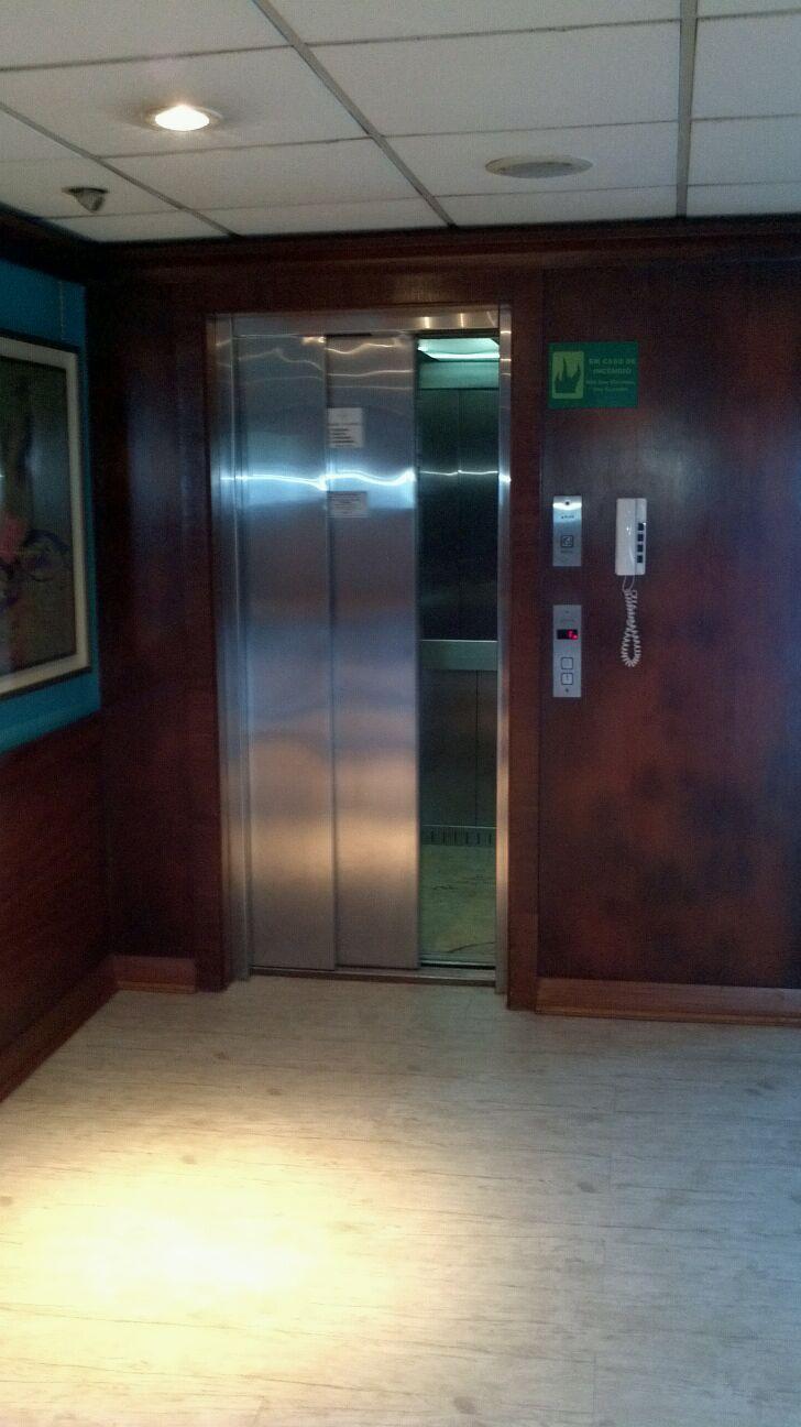 Elevator on the Iberostar