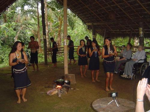 An Amazon community visit