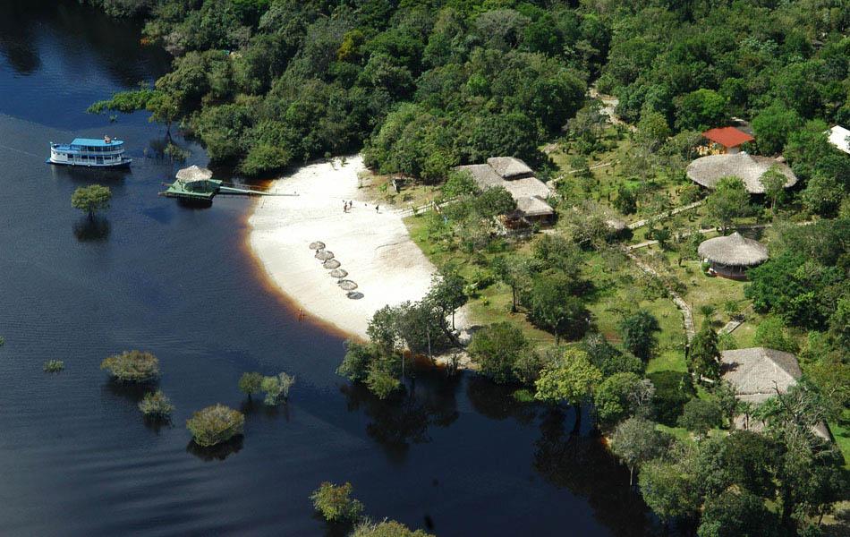 Amazon Eco Park aerial view