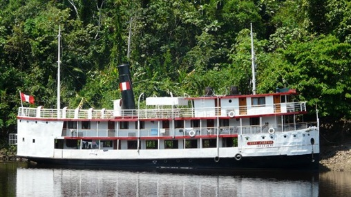 Ayapua Riverboat Exterior