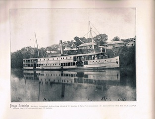 Steamboat in Iquitos