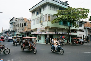 Iquitos, Peru at Present Time