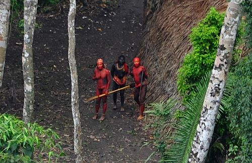 Uncontacted Amazon Tribes