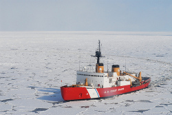 Expedition Ship through Ice