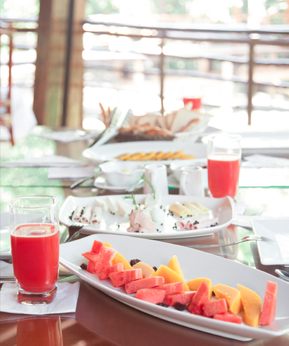 Treehouse Lodge Peru Food