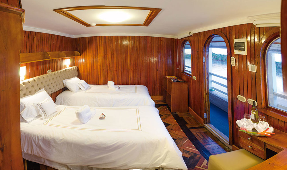 Amatista Amazon Cruise Suite