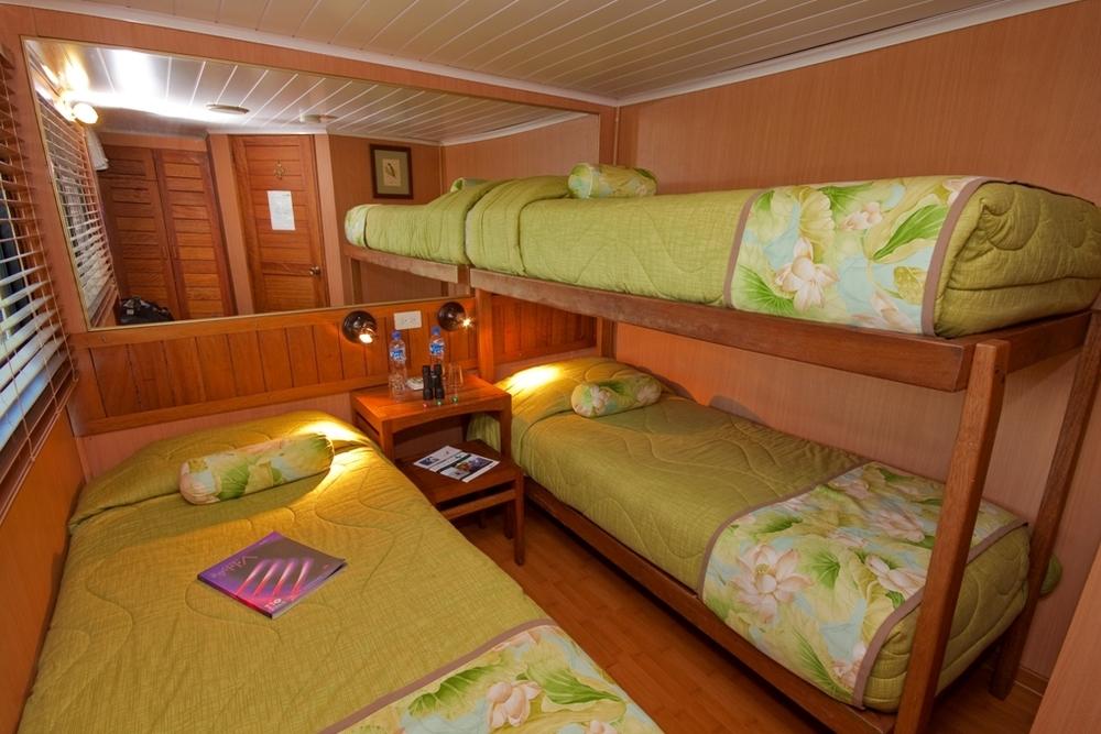 comfort cruise cabin