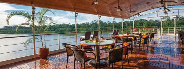 Estrella Amazonica cruise itinerary