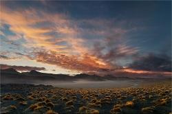 Peru sunset Landscape testimonial