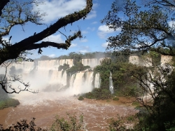 Iguazu falls testimonial