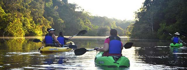 tucano kayaking