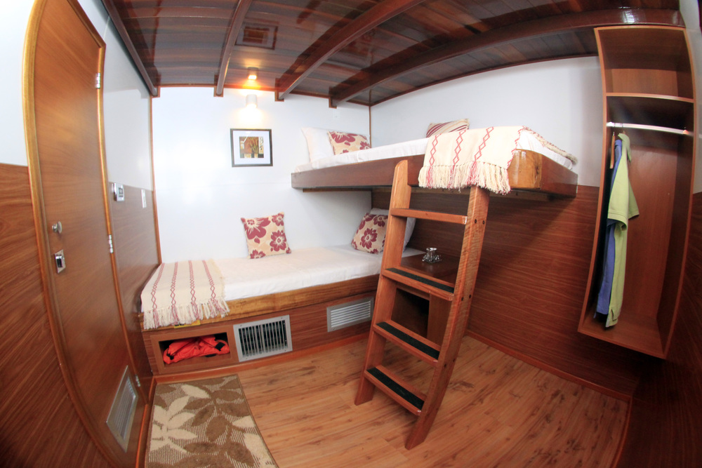 Desafio Amazon Cruise Bunk Cabin