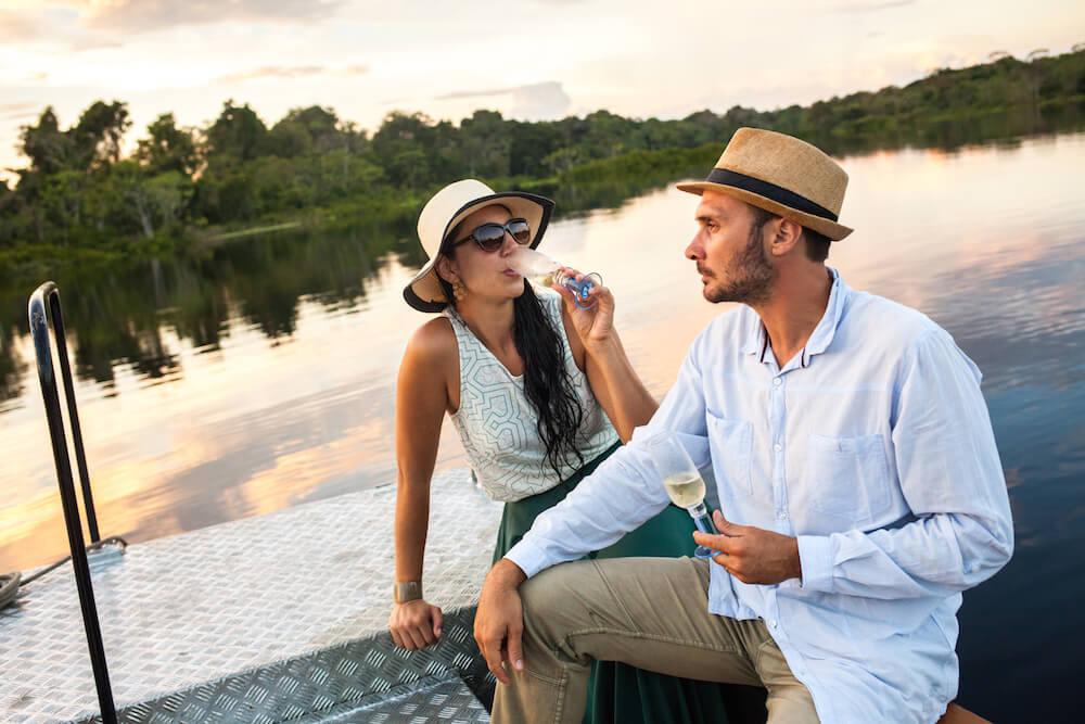 Honeymoon on the Delfin Amazon Cruise in Peru