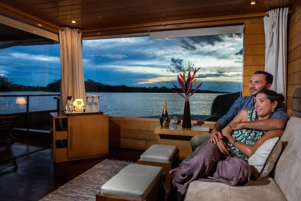 Honeymoon on the Delfin I Amazon Cruise