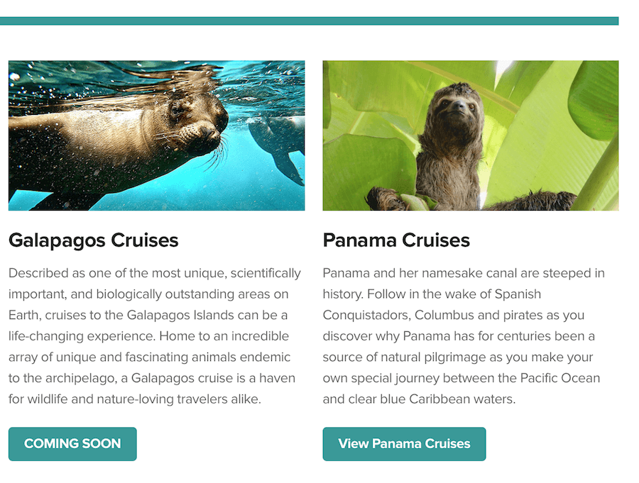 Galapagos and Panama Cruises