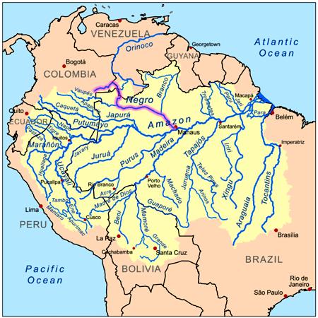 Rio Negro Map