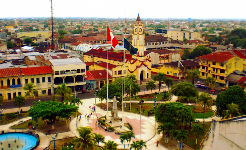 Iquitos Main Square