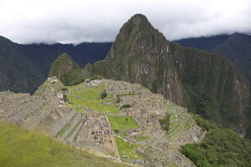 Machu Picchu in January