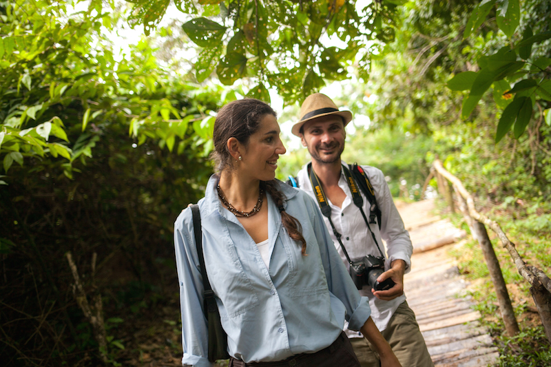 Jungle Excursions on the Delfin Amazon Cruise.