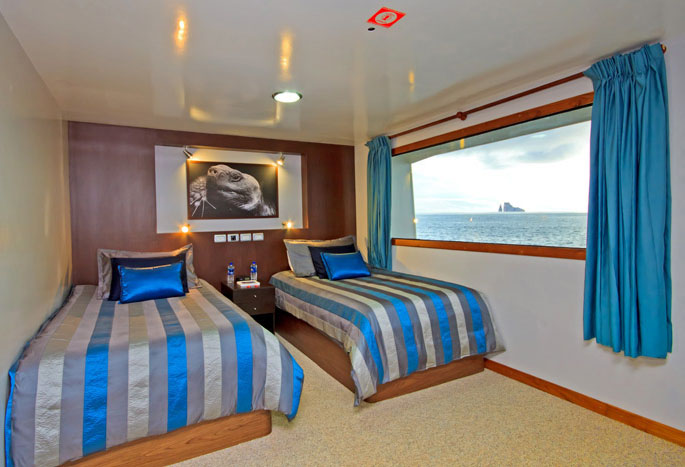 Ocean Spray Galapagos Cruise Double Cabins