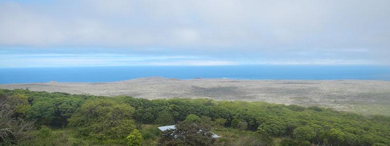 Galapagos Island landscapes