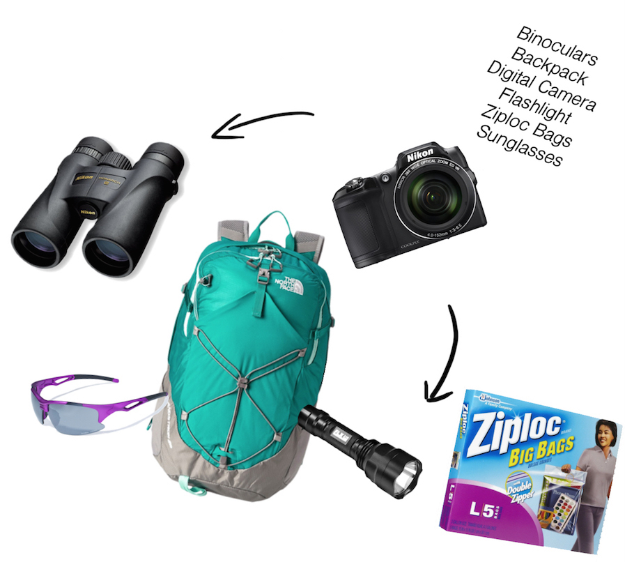 Amazon tour packing list