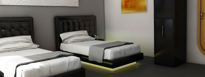 Petrel luxury beds